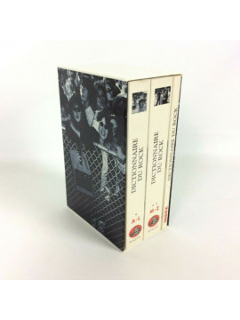 Dictionnaire Du Rock Coffret De 3 τόμοι 3 Box Box Set Blues Folk IN FRENCH